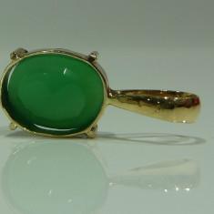 Pandativ aur 14k cu emerald