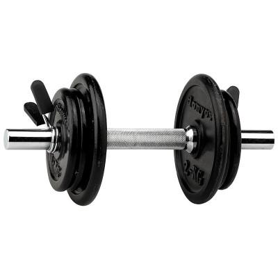 Gantera / gantere  discuri metalice 10 kg x 1buc  10 kg brat cu 6 discuri foto