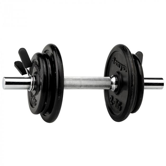 Gantera / gantere  discuri metalice 10 kg x 1buc  10 kg brat cu 6 discuri foto mare