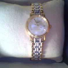 Ceas de damă Longines model 42112 original - Ceas dama Longines, Elegant, Mecanic-Automatic, Placat cu aur, Nou