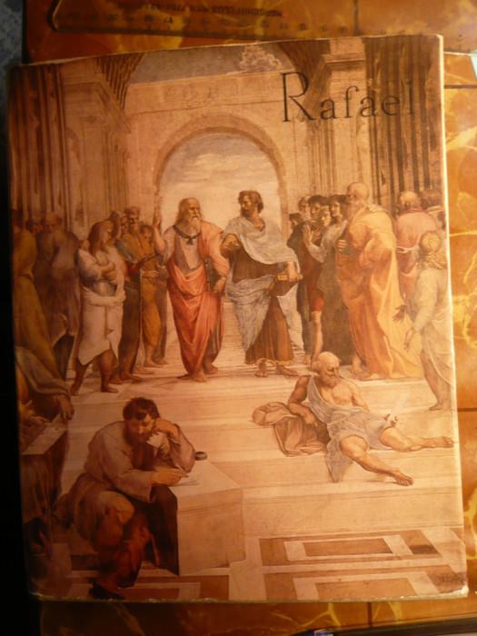 Album Pictura Rafael - Ed. Meridiane 1967 , cartonat cu supracoperta , ilustratii color si alb-negru ,112 pag. Texte Vasile Florea