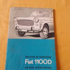 CARTE FIAT 1100D - Carti auto