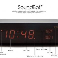 Boxa bluetooth / ceas alarma SOUNDBOT SB1010 - Boxa portabila, Conectivitate bluetooth: 1