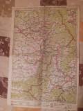 HARTA INTERBELICA - BRASOV-FAGARAS-ODORHEI-SF.GHEORGHE-MIERCUREA CIUCULUI- NR.27