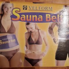 Velform Sauna Belt pentru slabit / Fitness / tonifica muschi - Echipament Fitness