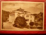 Ilustrata Ramnicu Valcea - Palatul Culturii , circulat 1957, Circulata