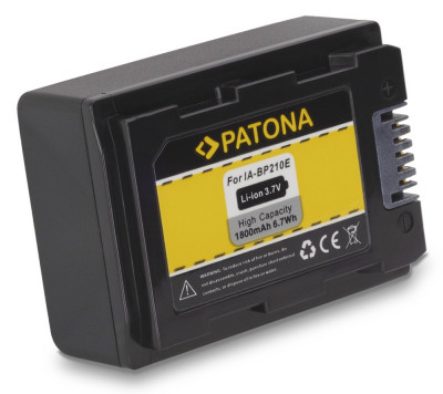 1 PATONA | Acumulator pt Samsung IA-BP210E SMX-F40 SMX-F43 IA-BP105R SMX-F44 foto