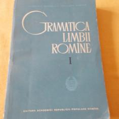 GRAMATICA LIMBII ROMANE VOLUMUL 1 . - Culegere Romana