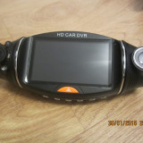 Camera DVR auto dual camera cu GPS, recomandat taxi si scoli auto, int+exterior