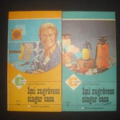 LUCA GHERASIM - IMI ZUGRAVESC SINGUR CASA 2 volume - Carte amenajari interioare