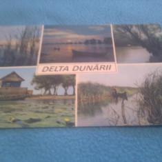 CP DELTA DUNARII CIRCULATA - Carte Postala Dobrogea dupa 1918