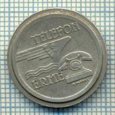 JETON 141 PENTRU COLECTIONARI - MAGYAR POSTA - TELEFON ERME -STAREA CARE SE VEDE - Jetoane numismatica