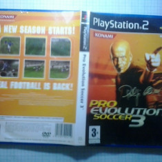 PES Pro Evolution Soccer 3 - JOC PS2 Playstation - Jocuri PS2, Sporturi, 3+, Multiplayer