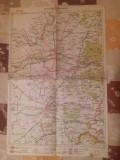 HARTA INTERBELICA - TIMISOARA- ARAD - NR.23