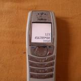 TELEFON NOKIA 6610 . FUNCTIONEAZA ., Gri, Nu se aplica, Neblocat, Single SIM, Fara procesor