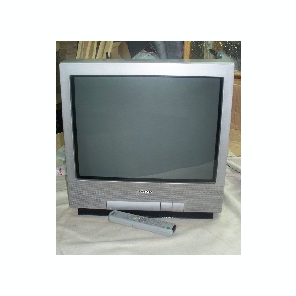 televizor crt sony trinitron kv 21ft1k ecran plat. Black Bedroom Furniture Sets. Home Design Ideas
