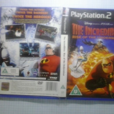 The Incredibles - Rise of the underminer - JOC PS2 Playstation - GameLand - Jocuri PS2, Actiune, Toate varstele, Multiplayer