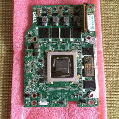 Dell Precision M6500 nVidia Quadro FX 3800M 1GB Video Card H01X5 DAXM2TH1CD0 - Placa video PC