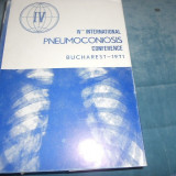 PNEUMOCONIOSIS CONFERENCE BUCHAREST 1971