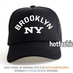 SAPCA, SEPCI TRUCKER, cu plasa, snapback - BROOKLYN NEW YORK - e x c l u s i v ! - Sapca Barbati, Marime: Marime universala, Culoare: Din imagine
