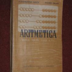 Aritmetica - Manual pentru clasa ll (1958)