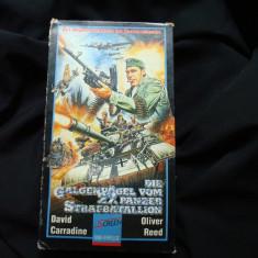 Caseta video SVHS film razboi dupa SVEN HASSEL Blindatele mortii Reg. 27 panzer - Film Colectie Altele, Altele
