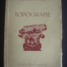 AUREL COSTACHEL, DAN MIHAIL - TOPOGRAFIE * MANUAL PENTRU SCOLILE MEDII TEHNICE