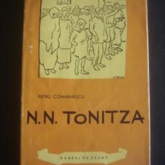 PETRU COMARNESCU - N. N. TONITZA