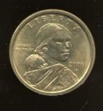 SUA  DOLLAR   2000 P  STARE AUNC, America de Nord