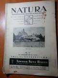 Revista natura 15 noiembrie 1931