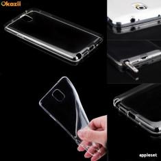 Husa Samsung Galaxy Xcover 3 G388F TPU Ultra Thin 0.3mm Transparenta - Husa Telefon Samsung, Negru, Gel TPU, Fara snur, Carcasa