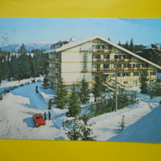 HOPCT 15662 PREDEAL - HOTELUL PREDEAL /IARNA -JUDETUL BRASOV [CIRCULATA] - Carte Postala Transilvania dupa 1918, Printata