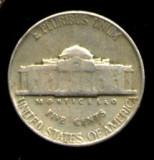 SUA  5 CENTI  1948  STARE FOARTE FOARTE BUNA, America de Nord