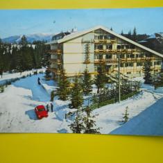 HOPCT 15643 PREDEAL - HOTEL PREDEAL -IARNA -JUDETUL BRASOV [CIRCULATA] - Carte Postala Transilvania dupa 1918, Printata