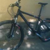 "Cube reaction pro 17"" - Mountain Bike Cube, 26 inch, Numar viteze: 27, Aluminiu, Negru"