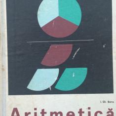 ARITMETICA MANUAL PENTRU CLASA A V-A - I. Gh. Borca - Manual scolar didactica si pedagogica, Clasa 5, Didactica si Pedagogica, Matematica