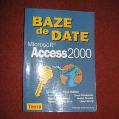 BAZE DE DATE MICROSOFT ACCESS 2000