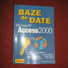 BAZE DE DATE MICROSOFT ACCESS 2000 - Carte Microsoft Office