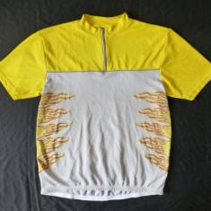 Tricou ciclism Feroti Sport; marime L, vezi dimensiuni; stare excelenta - Echipament Ciclism
