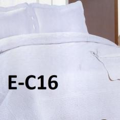 Cuvertura de pat bumbac brodat EC16 - Cuvertura pat