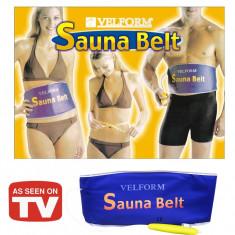 Centura slabit Sauna Belt - Echipament Fitness