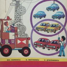 MATEMATICA MANUAL PENTRU CLASA I - Gh. Herescu, V. Motrescu, V. Stefanescu - Manual scolar didactica si pedagogica, Clasa 1, Didactica si Pedagogica
