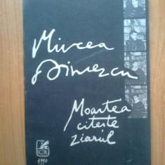E4 Mircea Dinescu - Moartea citeste ziarul - Carte poezie