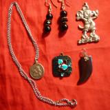 4 Medalioane si 1 per. cercei - copii si tineret