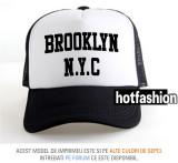SAPCA, SEPCI TRUCKER, cu plasa, snapback - BROOKLYN NEW YORK 2 - exclusiv !
