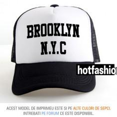 SAPCA, SEPCI TRUCKER, cu plasa, snapback - BROOKLYN NEW YORK 2 - exclusiv ! - Sapca Barbati, Marime: Marime universala, Culoare: Din imagine