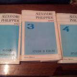 ALEXANDRU PHILIPPIDE - Scrieri vol. 2, 3, 4 - Nuvela
