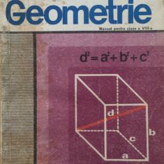 GEOMETRIE MANUAL PENTRU CLASA A VIII-A - A. Hollinger - Manual scolar didactica si pedagogica, Clasa 8, Didactica si Pedagogica, Matematica