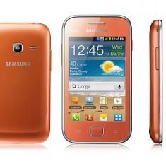 Samsung Dual SIM GT6802 - Telefon mobil Samsung Galaxy S Duos, Negru, Neblocat
