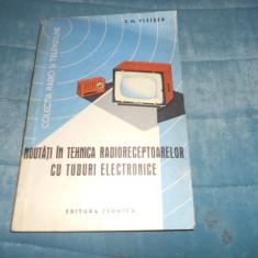 S. M. FLEISER - NOUTATI IN TEHNICA RADIORECEPTOARELOR CU TUBURI ELECTRONICE - Carti Electrotehnica